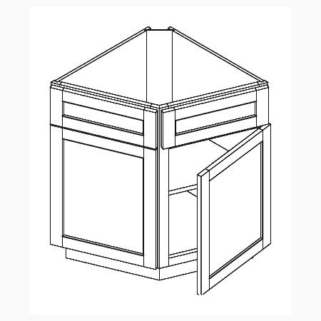 Base End Corner Cabinet Canada Kitchen Liquidators