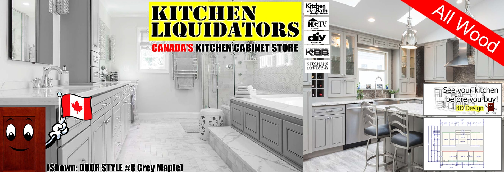 Canada Kitchen Liquidators – Kitchen Cabinets - Sinks