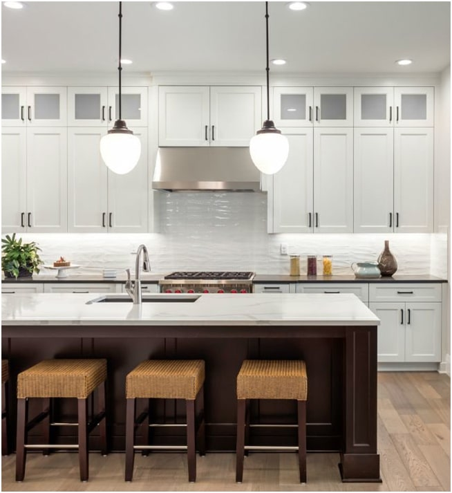 Kitchen Upper Cabinet Plans: Solved! How To Find The Correct Upper Cabinet Height